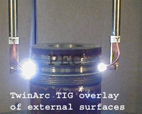 TwinArc TIG - Overlay Of External Surface